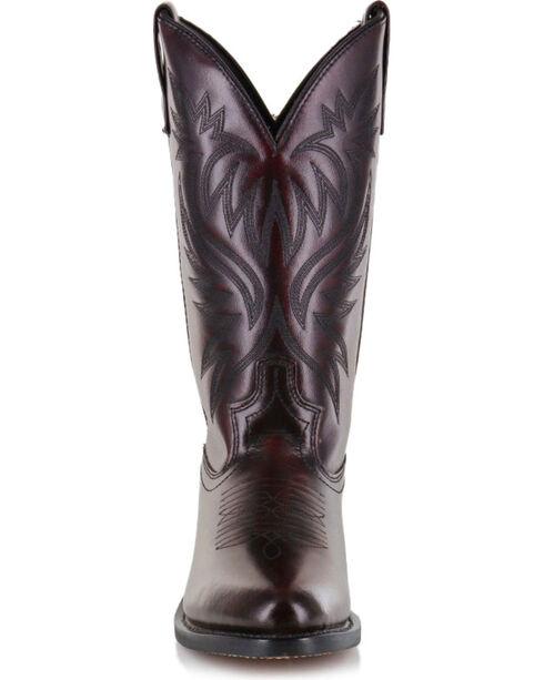 Cody James Men's Black Cherry Western Boots - Medium Toe, Black Cherry, hi-res