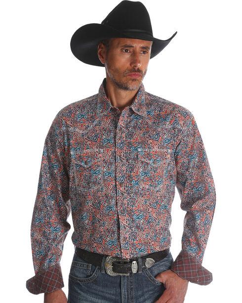 Wrangler 20X Men's Paisley Advanced Comfort Competition Shirt, Multi, hi-res