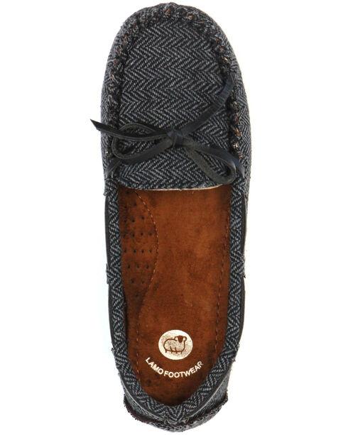 Lamo Footwear Women's Sabrina Moccasins, Charcoal, hi-res