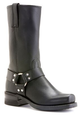 Frye Men's Harness 12R Boots - Square Toe, Black, hi-res