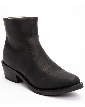 Zipper Boots by Durango, Black, hi-res