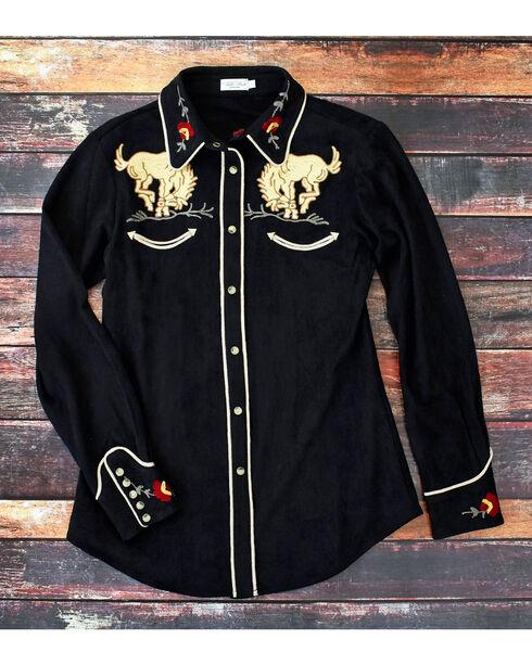 Tasha Polizzi Women's Black Bronco Shirt , Black, hi-res