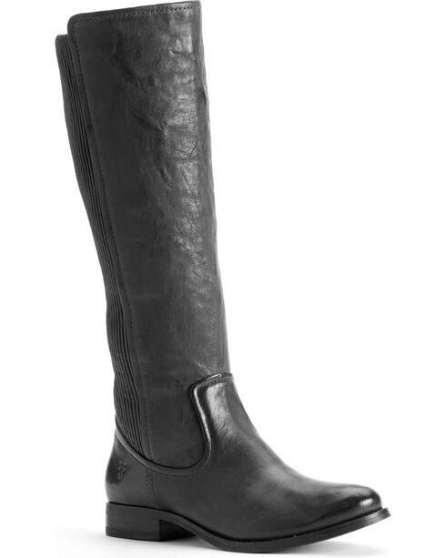 Frye Women's Melissa Scrunch Riding Boots, Black, hi-res