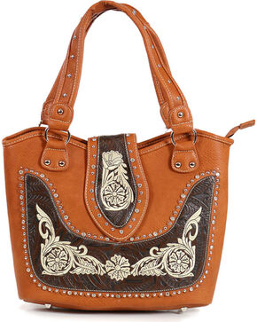 Savana Women's Embroidered Western Shoulder Bag , Multi, hi-res