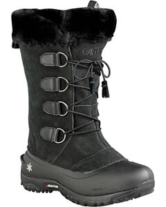 Baffin Women's Kristi Light Waterproof Boots - Round Toe , Black, hi-res