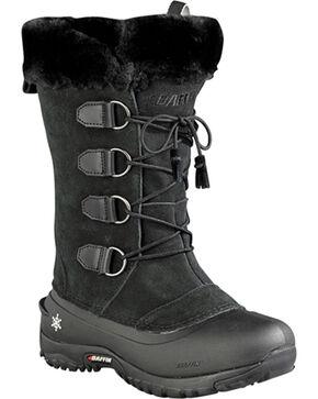 Baffin Women's Kristi Light Waterproof Boots - Round Toe , Black, hi-res