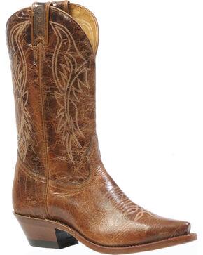 Boulet Puma Madera Cowgirl Boots - Snip Toe, Brown, hi-res