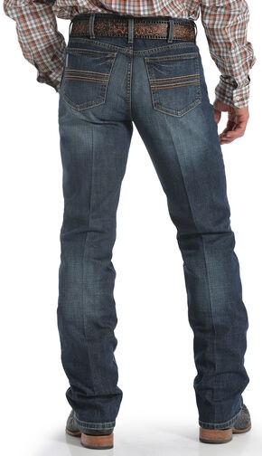 Cinch Men's Silver Label Dark Wash Performance Jeans, Dark Stone, hi-res