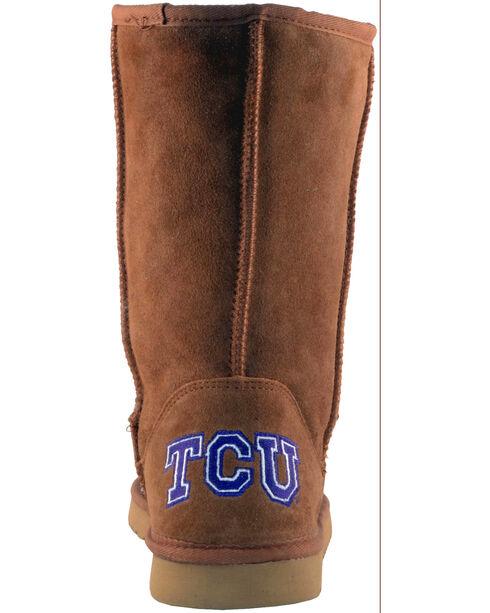 Gameday Boots Women's Texas Christian University Lambskin Boots, Tan, hi-res