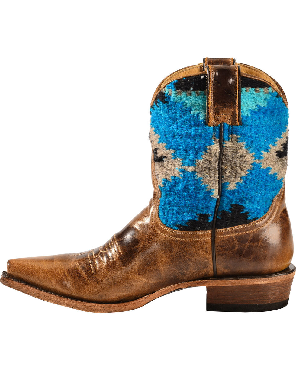 Stetson Morning Star Serape Short Cowgirl Boots - Snip Toe, , hi-res