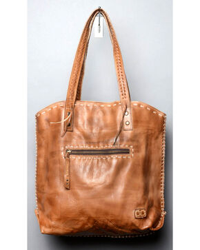 Bed Stu Women's Barra Tan Rustic Tote, Tan, hi-res