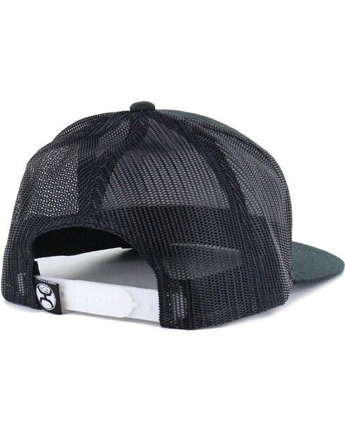 Hooey Men's Black Cactus Ropes Patch Logo Baseball Cap , Black, hi-res