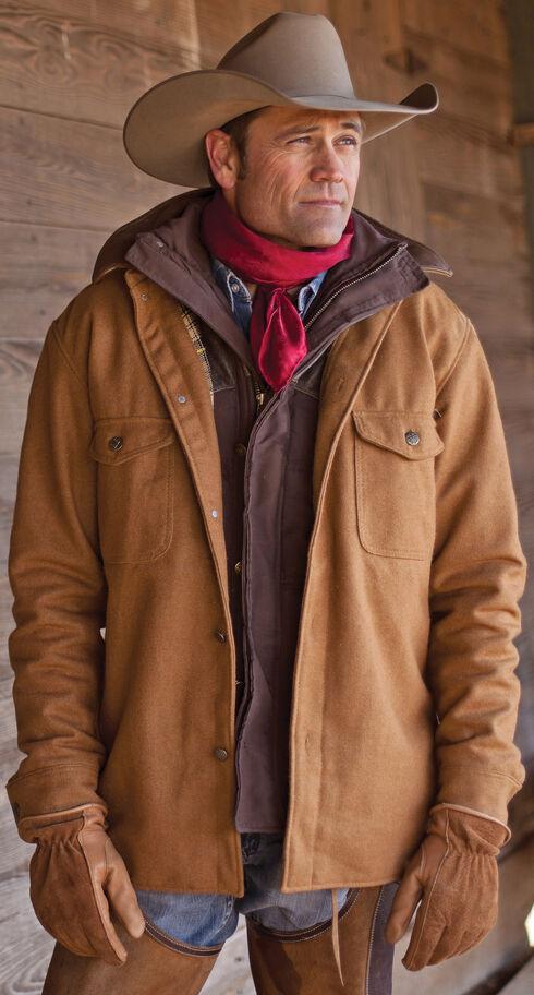STS Ranchwear Men's Clifton Camel Wool Jacket, , hi-res