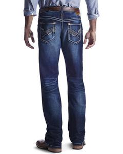Ariat Men's Indigo M4 Jake Roundup Jeans - Boot Cut , , hi-res