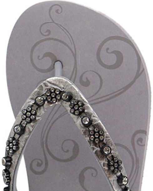 Shyanne® Women's Bling Sandals, Grey, hi-res
