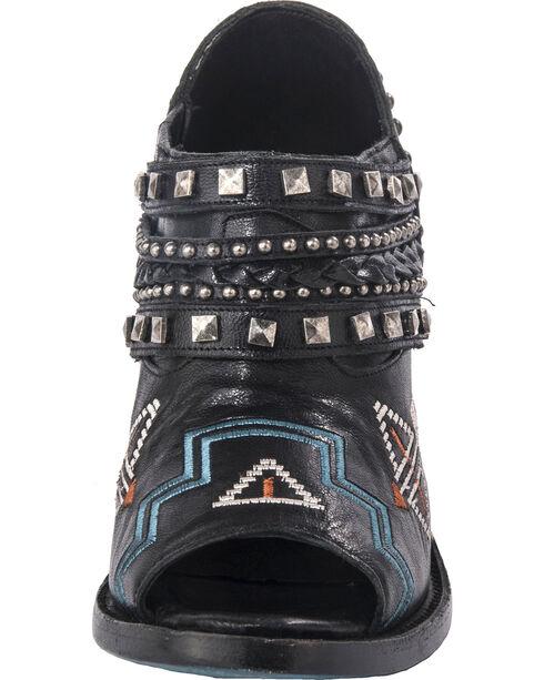 Lane Women's Peeptoe Nova Booties - Round Toe , Black, hi-res