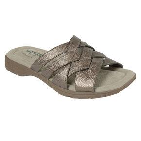 Eastland Women's Silver Hazel Sandals , Silver, hi-res