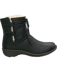 UGG® Women's Caspia Lace Boots, Black, hi-res