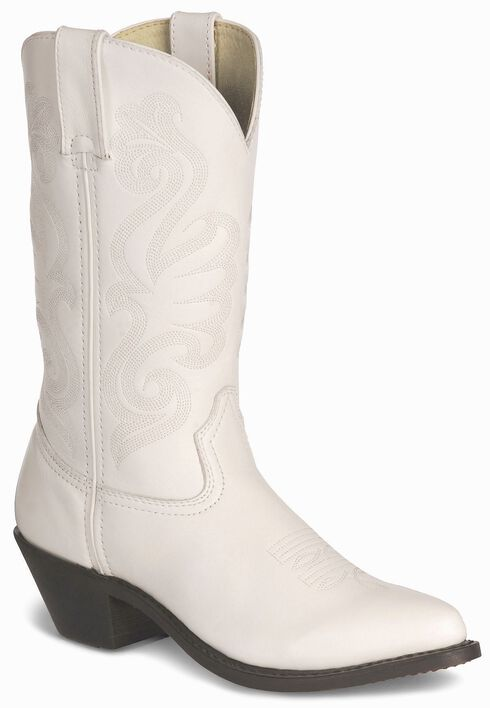 Durango Wild White Cowgirl Boots - Pointed Toe, , hi-res