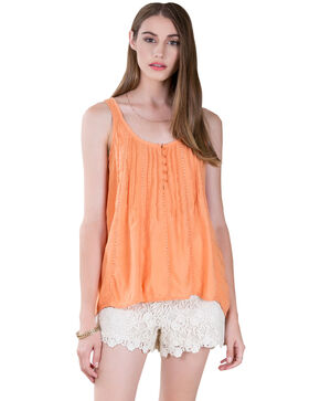 Black Swan Women's Melon Leona Top , Melon, hi-res