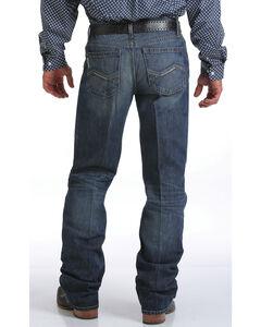 Cinch Men's Grant Mid Rise Relaxed Fit Jeans - Boot Cut, Indigo, hi-res