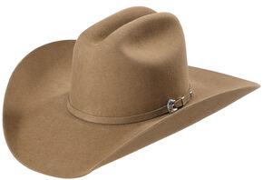 Justin Bent Rail 7X Bullet Fur Felt Cowboy Hat, Pecan, hi-res