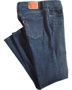 Levi's Women's Indigo Classic Jeans - Straight Leg , Indigo, hi-res
