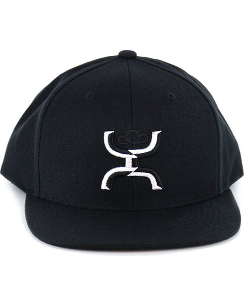 HOOey Men's Chi Baseball Cap, Black, hi-res
