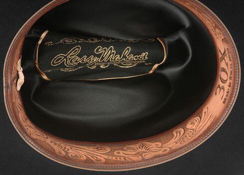 Larry Mahan Black Opulento 30X Fur Felt Western Hat, Black, hi-res