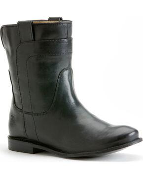 Frye Women's Paige Short Riding Boots - Round Toe, Black, hi-res