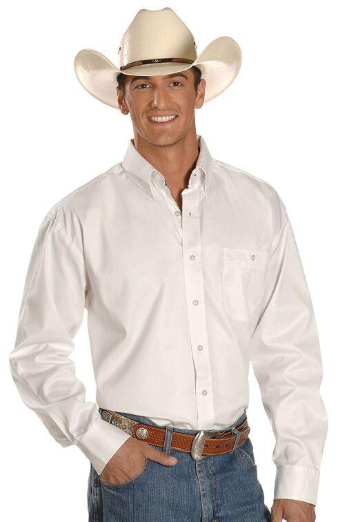Wrangler George Strait Shirt, White, hi-res