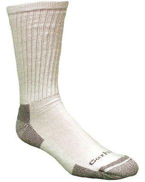 Carhartt All Season Cotton Crew Work Socks, White, hi-res
