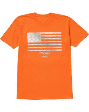 Wrangler Men's Orange RIGGS Workwear Graphic Tee , Bright Orange, hi-res
