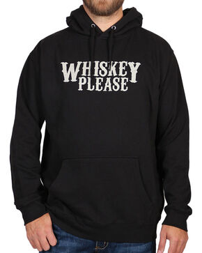 Cody James Men's Whiskey Please Hoodie, Black, hi-res
