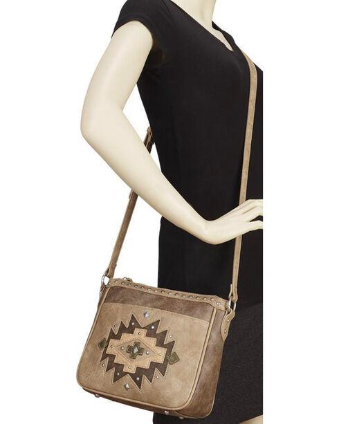 Bandana Women's Earth Bound Zip Top Crossbody Bag , , hi-res