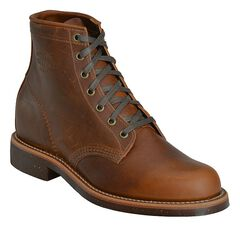 """Chippewa Service 6"""" Lace-Up Boots - Round Toe, , hi-res"""