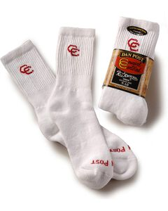 Dan Post Womens Cowboy Certified Crew Socks (2-Pack), , hi-res