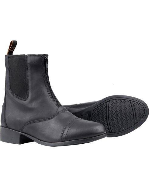 Dublin Women's Elevation Zip Paddock Boots, Black, hi-res