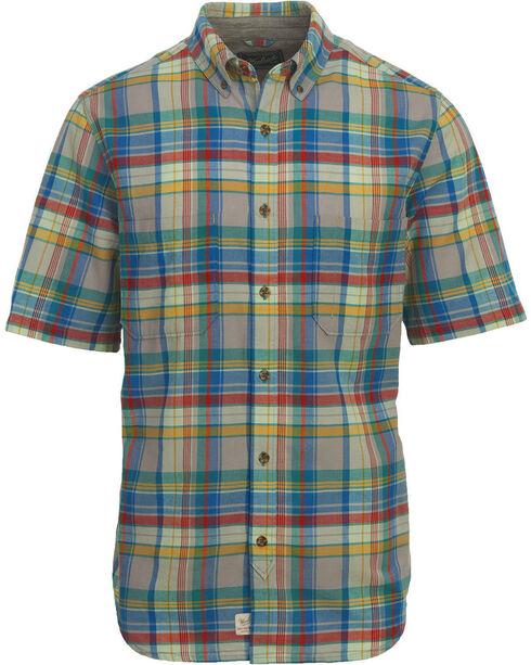 Woolrich Men's Oak View Eco Rich Plaid Shirt, Blue, hi-res