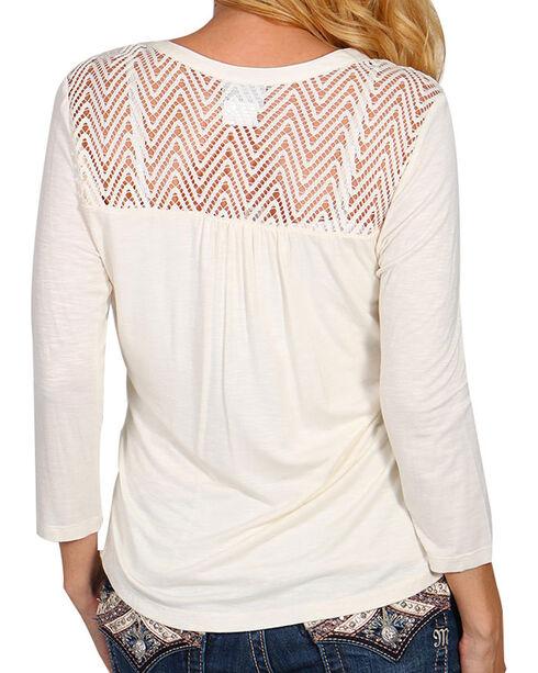 Ariat Women's Cream Cheryl Top, Cream, hi-res