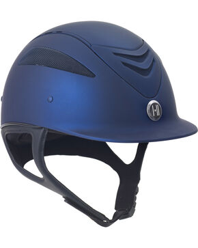 One K Defender Navy Matte Helmet, Navy, hi-res