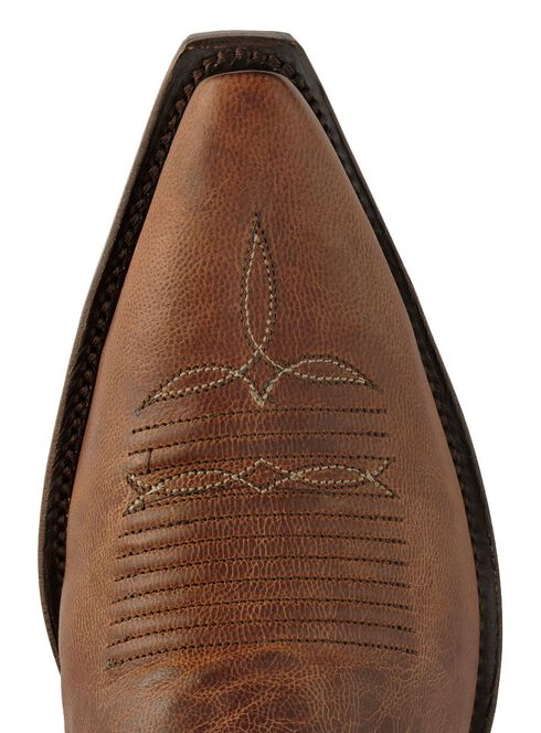 Lucchese Handcrafted 1883 Mad Dog Goat Cowboy Boots - Snip Toe, Peanut Brittle, hi-res