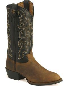 Tony Lama 3R Cowboy Boots - Medium Toe, , hi-res