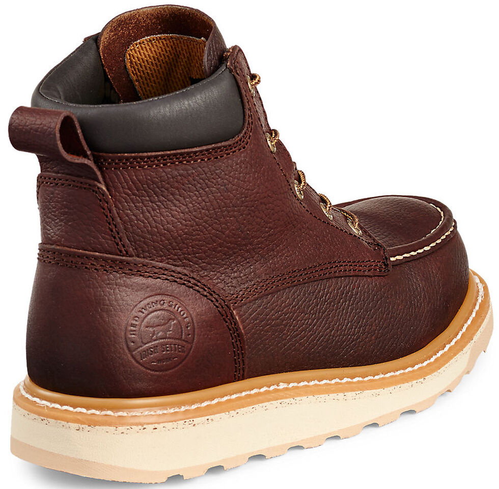 """Irish Setter by Red Wing Shoes Men's Ashby 6"""" EH Waterproof Work Boots , Brown, hi-res"""