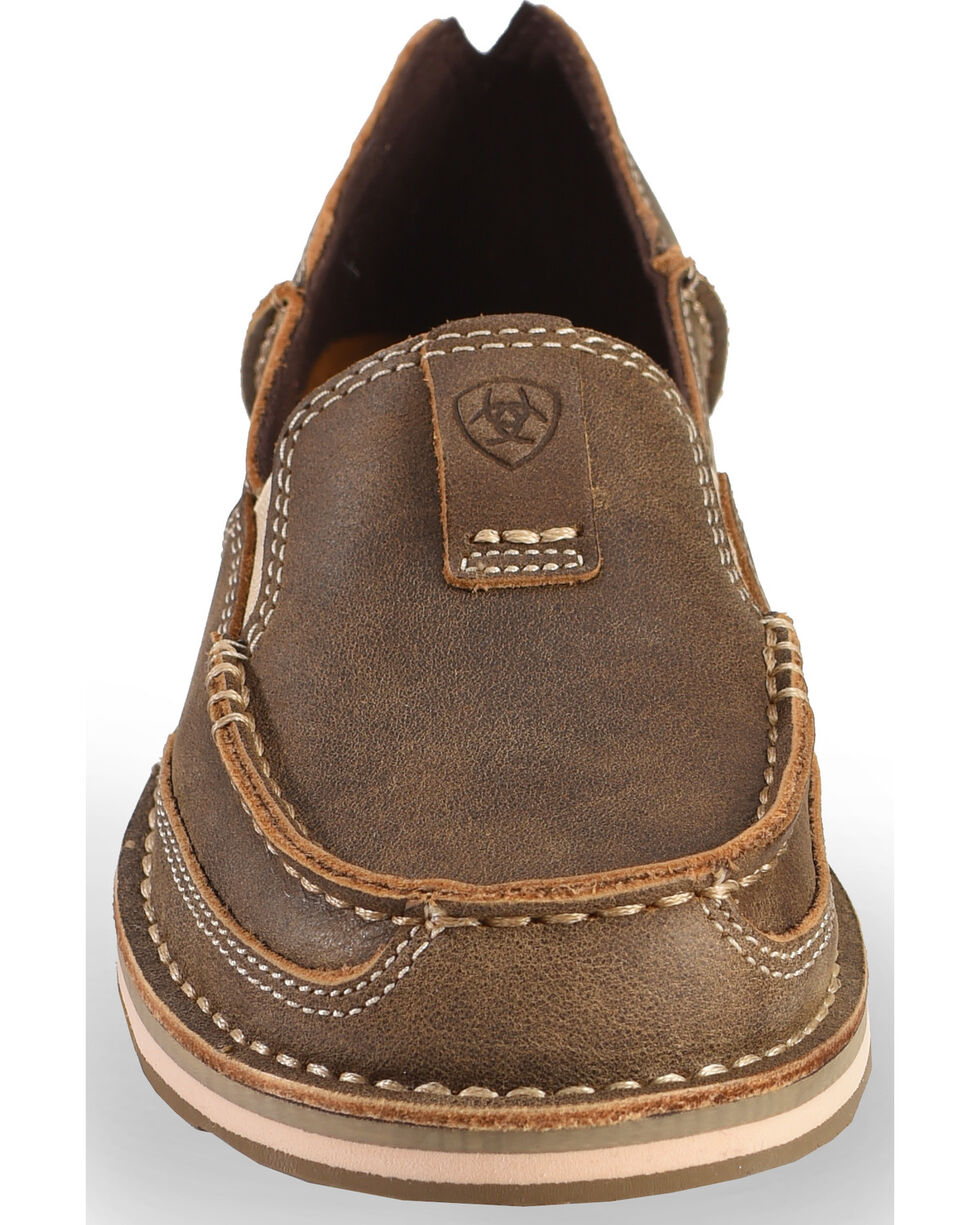 Ariat Women's Brown Bomber Cruiser Shoes, Brown, hi-res