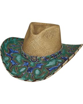 Bullhide Wind of Change Panama Straw Cowgirl Hat, Natural, hi-res