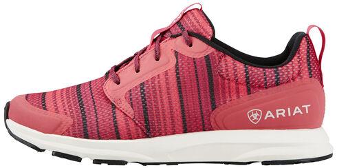 Ariat Women's Pink Fuse Serape Shoes, Pink, hi-res