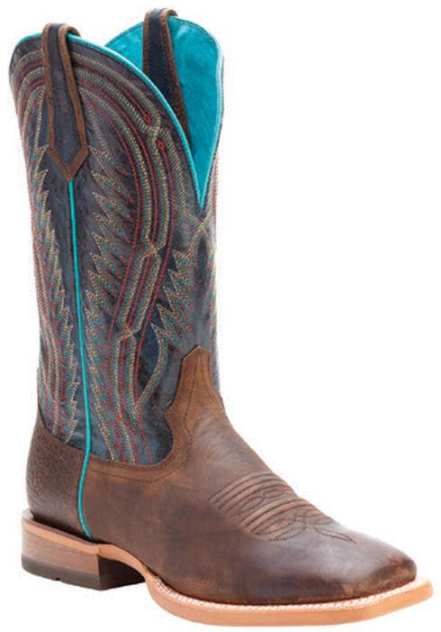Ariat Men's Chute Boss Cowboy Boots - Square Toe, Brown, hi-res