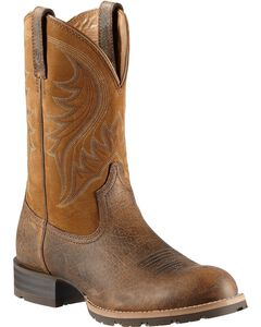 Ariat Hybrid Rancher Cowboy Boots - Round Toe, Earth, hi-res