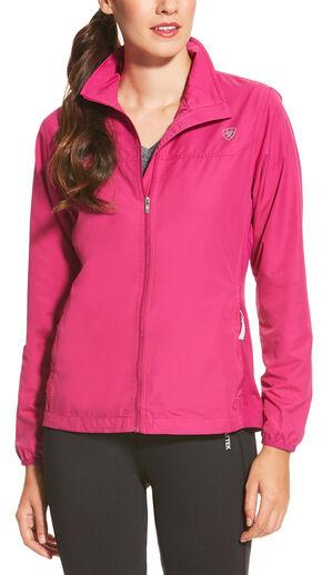 Ariat Women's Magenta Ideal Windbreaker Jacket, Magenta, hi-res